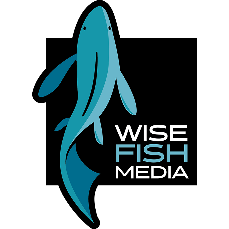 Wise Fish Media – Marketing, SEO, Content Creation, Web Development and Publishing Logo